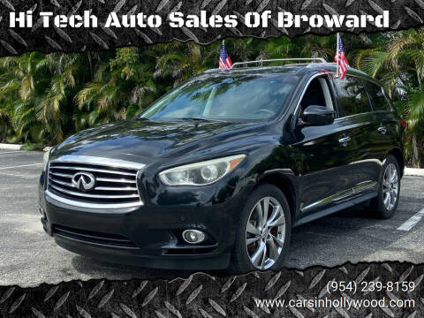 2013 Infiniti JX35 for sale at Hi Tech Auto Sales Of Broward in Hollywood FL