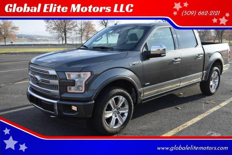2017 Ford F-150 for sale at Global Elite Motors LLC in Wenatchee WA