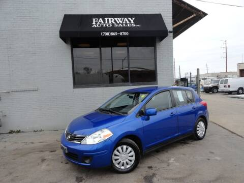 2011 Nissan Versa for sale at FAIRWAY AUTO SALES, INC. in Melrose Park IL