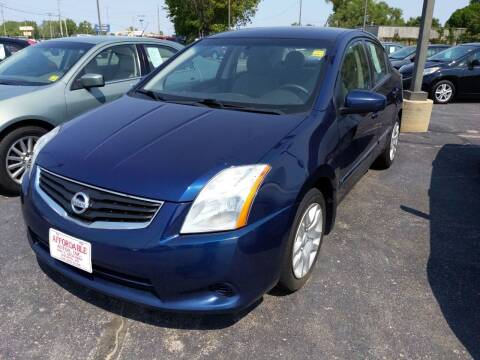 2012 Nissan Sentra for sale at Affordable Autos in Wichita KS