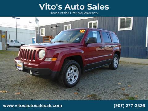 2014 Jeep Patriot for sale at Vito's Auto Sales in Anchorage AK