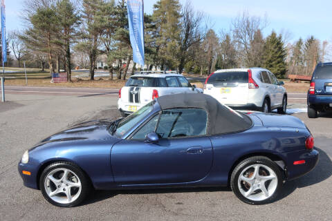 2003 Mazda MX-5 Miata for sale at GEG Automotive in Gilbertsville PA
