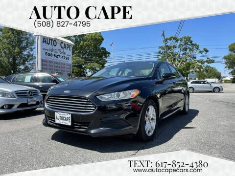 2013 Ford Fusion for sale at Auto Cape in Hyannis MA