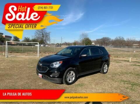 2016 Chevrolet Equinox for sale at LA PULGA DE AUTOS in Dallas TX