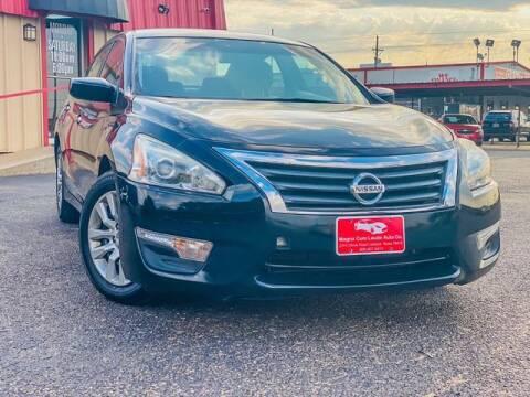 2014 Nissan Altima for sale at MAGNA CUM LAUDE AUTO COMPANY in Lubbock TX