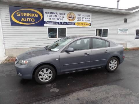 2008 Mazda MAZDA3 for sale at STEINKE AUTO INC. - Steinke Auto Inc (South) in Clintonville WI