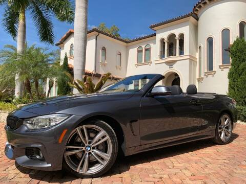 2017 BMW 4 Series for sale at Mirabella Motors in Tampa FL