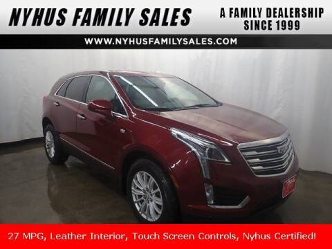 2017 Cadillac XT5 for sale at Nyhus Family Sales in Perham MN