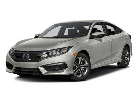 2016 Honda Civic for sale at DAVID McDAVID HONDA OF IRVING in Irving TX