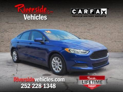 2016 Ford Fusion for sale at Riverside Mitsubishi(New Bern Auto Mart) in New Bern NC