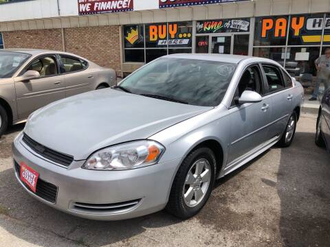 2009 Chevrolet Impala for sale at Sonny Gerber Auto Sales in Omaha NE