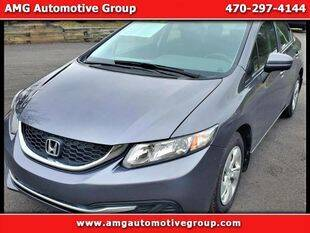 2015 Honda Civic for sale at AMG Automotive Group in Cumming GA