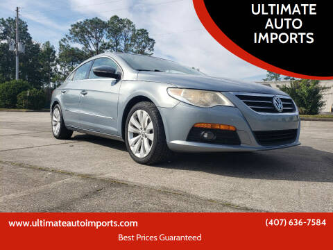 2009 Volkswagen CC for sale at ULTIMATE AUTO IMPORTS in Longwood FL