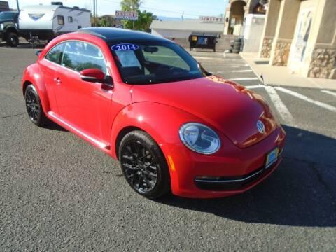 2014 Volkswagen Beetle for sale at Team D Auto Sales in Saint George UT