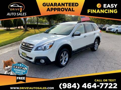 2013 Subaru Outback for sale at Drive 1 Auto Sales in Wake Forest NC