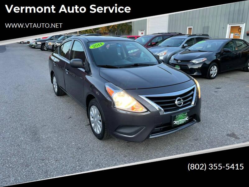 2015 Nissan Versa for sale at Vermont Auto Service in South Burlington VT