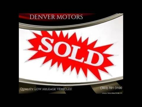 2017 Lexus RX 350 for sale at DENVER MOTORS in Englewood CO
