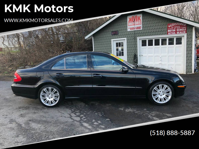 2007 Mercedes-Benz E-Class for sale at KMK Motors in Latham NY