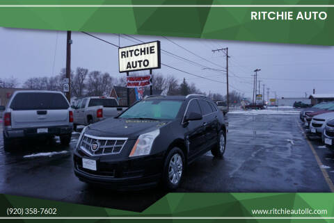 2012 Cadillac SRX for sale at Ritchie Auto in Appleton WI