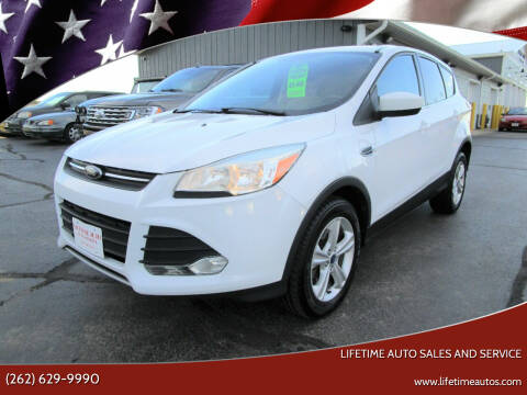 2013 Ford Escape for sale at Lifetime Auto Sales and Service in West Bend WI