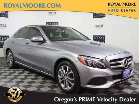 2016 Mercedes-Benz C-Class for sale at Royal Moore Custom Finance in Hillsboro OR