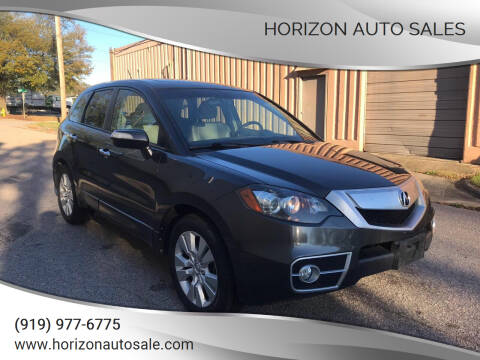 2010 Acura RDX for sale at Horizon Auto Sales in Raleigh NC