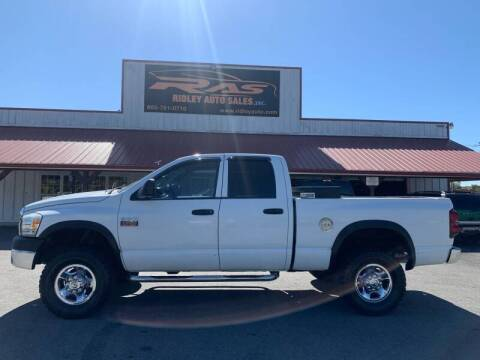 2008 Dodge Ram Pickup 2500 for sale at Ridley Auto Sales, Inc. in White Pine TN