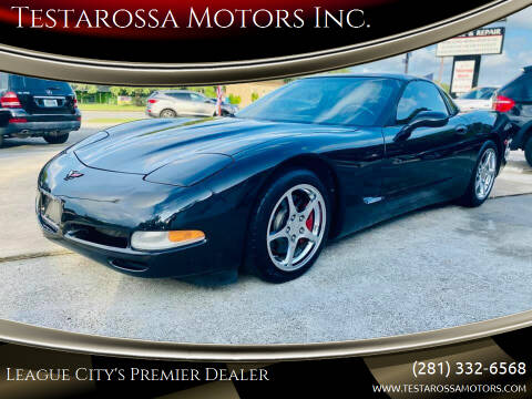 2000 Chevrolet Corvette for sale at Testarossa Motors Inc. in League City TX