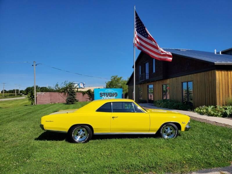 1966 Chevrolet Chevelle for sale at STUDIO HOTRODS in Richmond IL