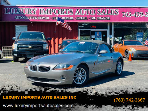 2003 BMW Z4 for sale at LUXURY IMPORTS AUTO SALES INC in North Branch MN