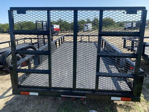 """2021 P & C  - Utility 77"""" X 14' - In for sale at LJD Sales in Lampasas TX"""