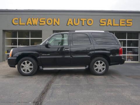 2006 Cadillac Escalade for sale at Clawson Auto Sales in Clawson MI
