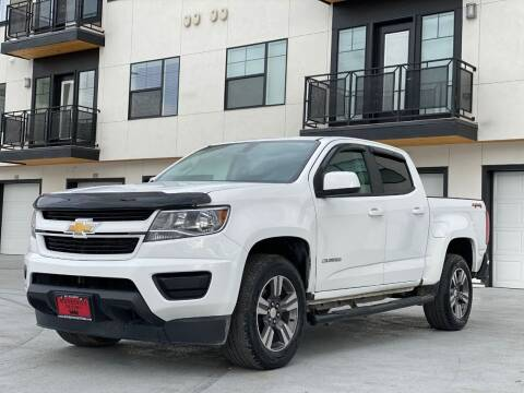 2017 Chevrolet Colorado for sale at Avanesyan Motors in Orem UT