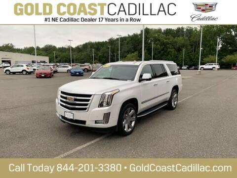 2019 Cadillac Escalade ESV for sale at Gold Coast Cadillac in Oakhurst NJ