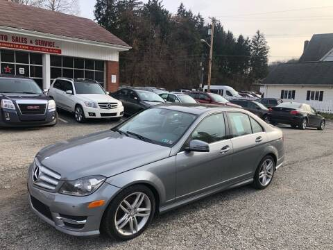 2013 Mercedes-Benz C-Class for sale at Fellini Auto Sales & Service LLC in Pittsburgh PA