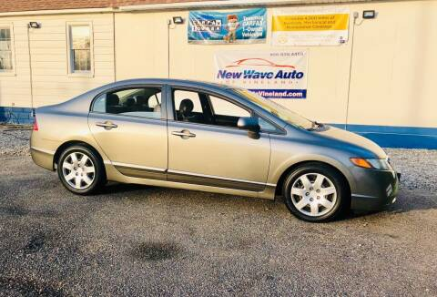 2009 Honda Civic for sale at New Wave Auto of Vineland in Vineland NJ