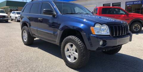 2005 Jeep Grand Cherokee for sale at Perrys Certified Auto Exchange in Washington IN