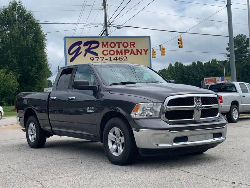 2016 RAM Ram Pickup 1500 for sale at GR Motor Company in Garner NC
