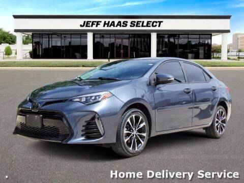 2017 Toyota Corolla for sale at JEFF HAAS MAZDA in Houston TX