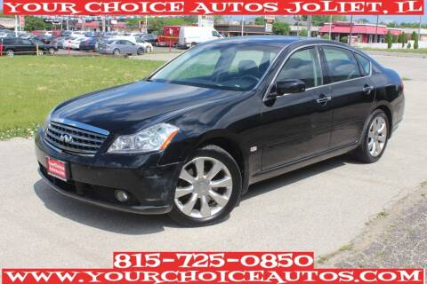 2007 Infiniti M35 for sale at Your Choice Autos - Joliet in Joliet IL