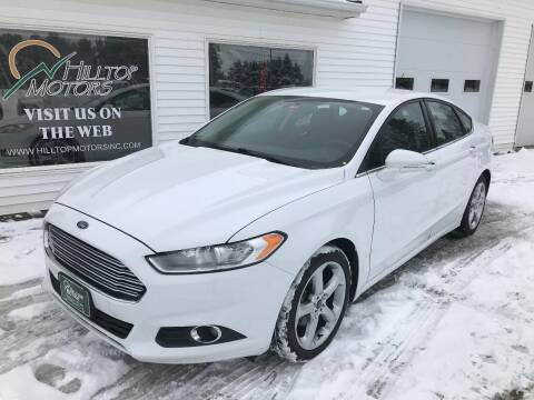 2014 Ford Fusion for sale at HILLTOP MOTORS INC in Caribou ME