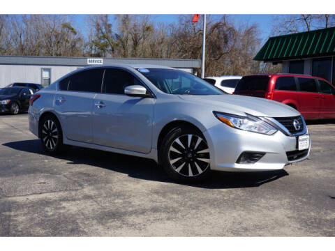 2018 Nissan Altima for sale at Maroney Auto Sales in Humble TX