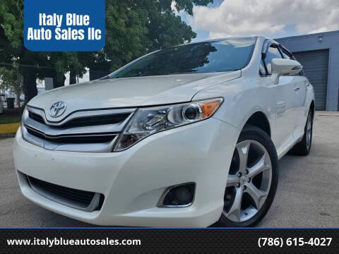 2013 Toyota Venza for sale at Italy Blue Auto Sales llc in Miami FL