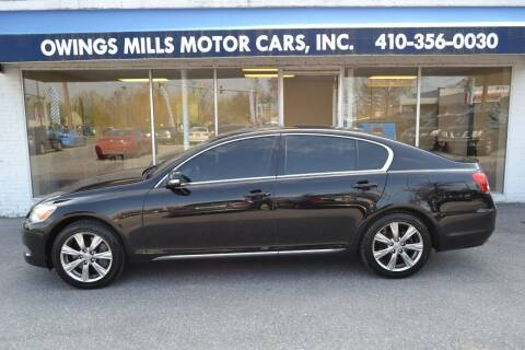 2010 Lexus GS 350 for sale at Owings Mills Motor Cars in Owings Mills MD
