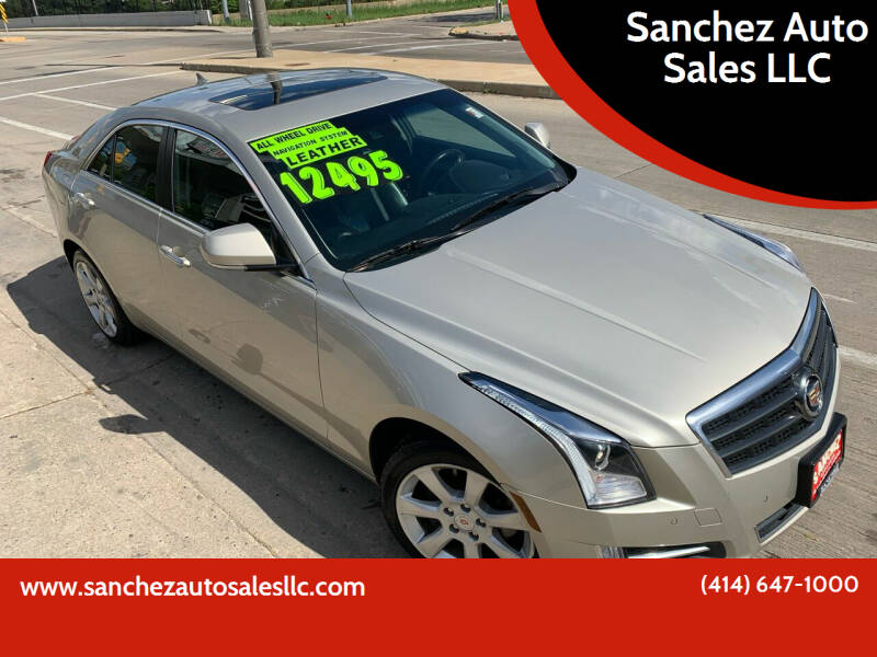 2013 Cadillac ATS for sale at Sanchez Auto Sales LLC in Milwaukee WI