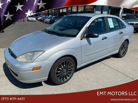 2000 Ford Focus for sale at EMT MOTORS LLC in Portland OR
