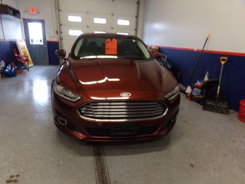 2016 Ford Fusion for sale at Pool Auto Sales Inc in Spencerport NY