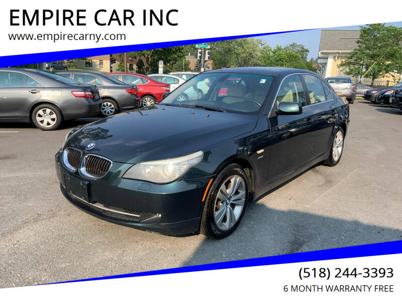 2009 BMW 5 Series for sale at EMPIRE CAR INC in Troy NY