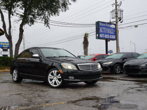2008 Mercedes-Benz C-Class for sale at Winter Park Auto Mall in Orlando FL