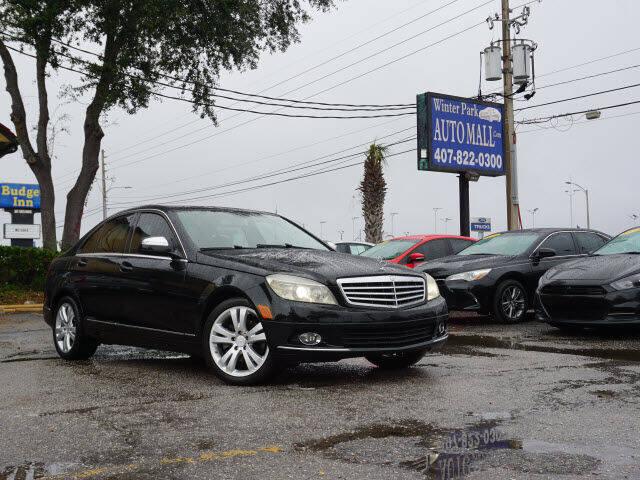 2008 Mercedes-Benz C-Class for sale at Winter Park Auto Mall in Orlando FL
